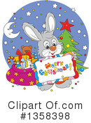 Rabbit Clipart #1358398 by Alex Bannykh