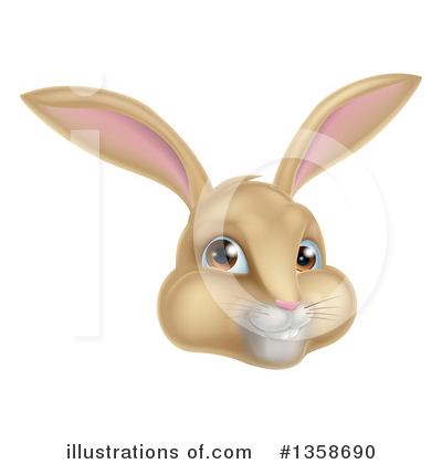 Rabbit Clipart #1358690 by AtStockIllustration