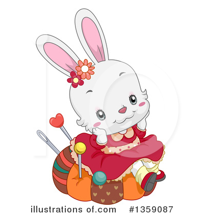 Rabbit Clipart #1359087 by BNP Design Studio