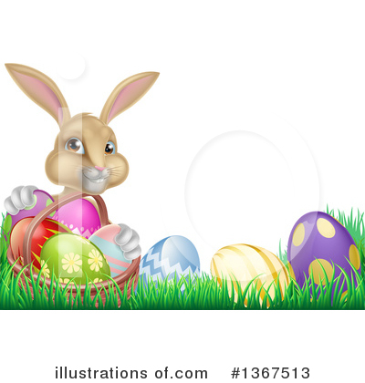 Easter Egg Clipart #1367513 by AtStockIllustration
