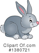 Royalty-Free (RF) Rabbit Clipart Illustration #1380721