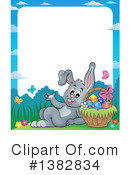 Rabbit Clipart #1382834 by visekart