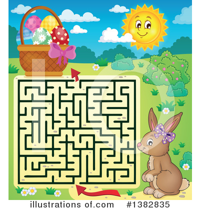 Maze Clipart #1382835 by visekart