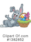 Royalty-Free (RF) Rabbit Clipart Illustration #1382852