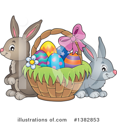 Rabbit Clipart #1382853 by visekart