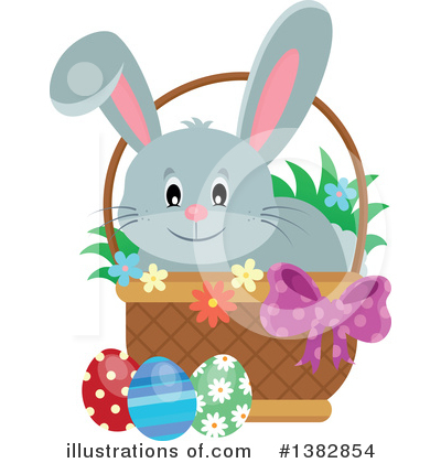 Rabbit Clipart #1382854 by visekart