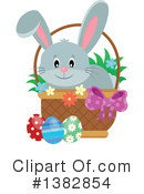Royalty-Free (RF) Rabbit Clipart Illustration #1382854