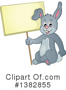 Royalty-Free (RF) Rabbit Clipart Illustration #1382855