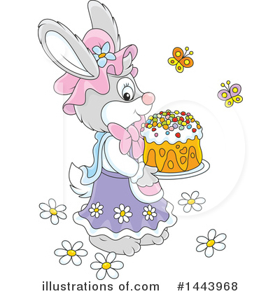 Easter Clipart #1443968 by Alex Bannykh