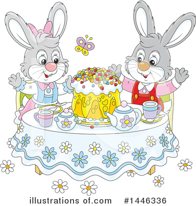 Easter Clipart #1446336 by Alex Bannykh