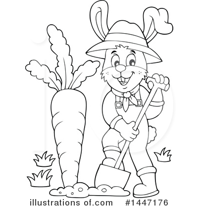 Gardening Clipart #1447176 by visekart