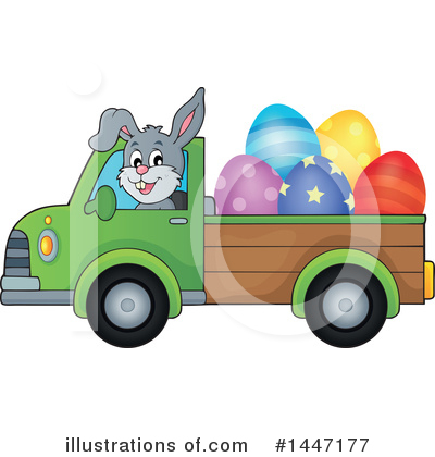 Rabbit Clipart #1447177 by visekart