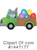 Royalty-Free (RF) Rabbit Clipart Illustration #1447177