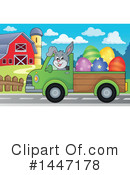 Rabbit Clipart #1447178 by visekart