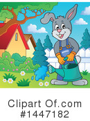 Royalty-Free (RF) Rabbit Clipart Illustration #1447182