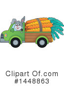 Royalty-Free (RF) Rabbit Clipart Illustration #1448863