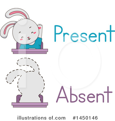 Rabbit Clipart #1450146 by BNP Design Studio