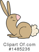 Rabbit Clipart #1485236 by lineartestpilot