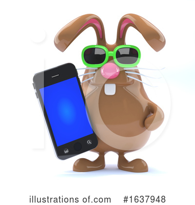 Cell Phone Clipart #1637948 by Steve Young