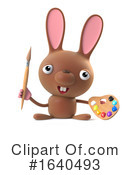 Rabbit Clipart #1640493 by Steve Young