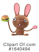 Rabbit Clipart #1640494 by Steve Young