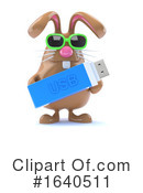 Rabbit Clipart #1640511 by Steve Young