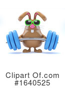 Rabbit Clipart #1640525 by Steve Young