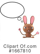 Rabbit Clipart #1667810 by Steve Young