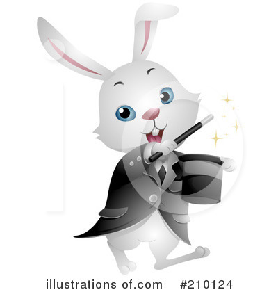 Royalty-Free (RF) Rabbit Clipart Illustration by BNP Design Studio - Stock Sample #210124