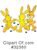 Rabbit Clipart #32360 by Alex Bannykh