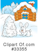 Rabbit Clipart #33355