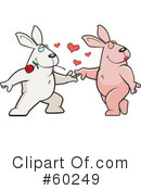 Rabbit Clipart #60249 by Cory Thoman