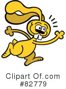 Rabbit Clipart #82779 by Zooco