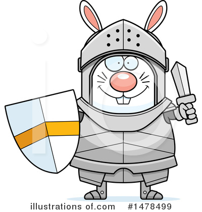 Knight Clipart #1478499 by Cory Thoman