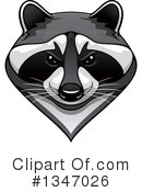 Raccoon Clipart #1347026 by Vector Tradition SM