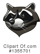Raccoon Clipart #1355701 by Vector Tradition SM