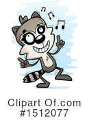 Raccoon Clipart #1512077 by Cory Thoman