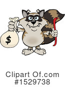 Raccoon Clipart #1529738 by Dennis Holmes Designs