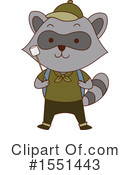 Raccoon Clipart #1551443 by BNP Design Studio