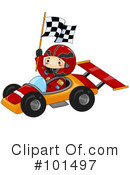 Race Car Clipart #101497