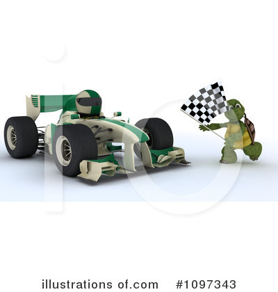 Race Car Driver Clipart #1097343 by KJ Pargeter