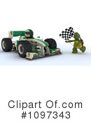 Royalty-Free (RF) Race Car Clipart Illustration #1097343