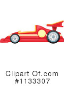 Race Car Clipart #1133307 by Graphics RF