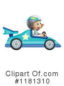 Royalty-Free (RF) race car Clipart Illustration #1181310