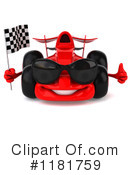 Race Car Clipart #1181759 by Julos
