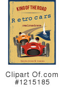 Race Car Clipart #1215185 by Eugene