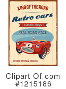 Race Car Clipart #1215186 by Eugene