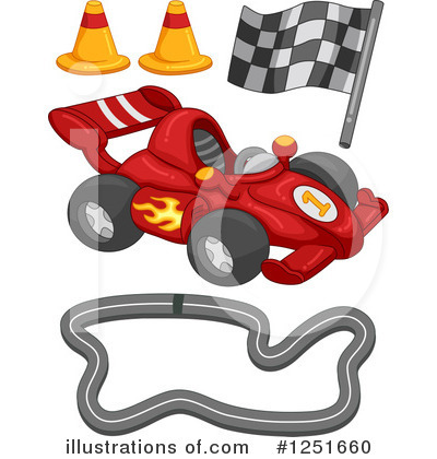 Motor Sports Clipart #1251660 by BNP Design Studio
