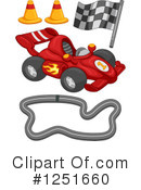 Royalty-Free (RF) Race Car Clipart Illustration #1251660