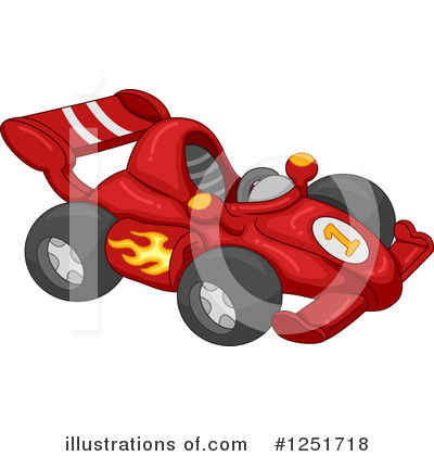 Motor Sports Clipart #1251718 by BNP Design Studio